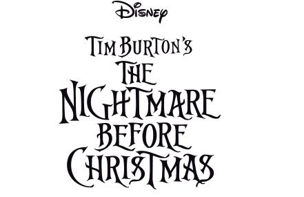 Disney The Nightmare Before Christmas