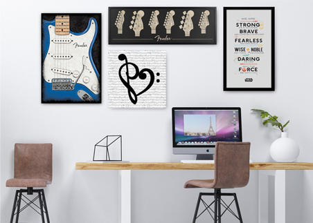 Pop Classics Home Office Image