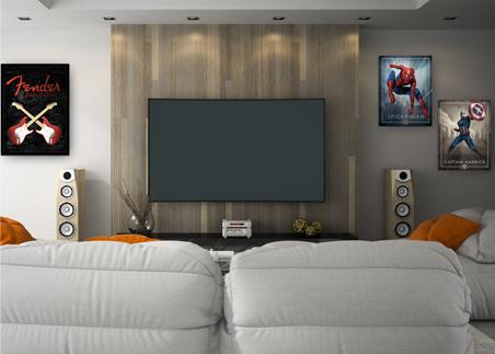 Pop Classics Entertainment Room Image